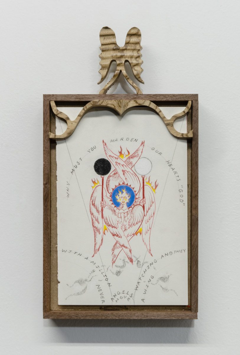 Harry Gould Harvey IV, Seraphim Blinded In A World Ablaze, 2020. Courtesy of theartist and Bureau, New York.