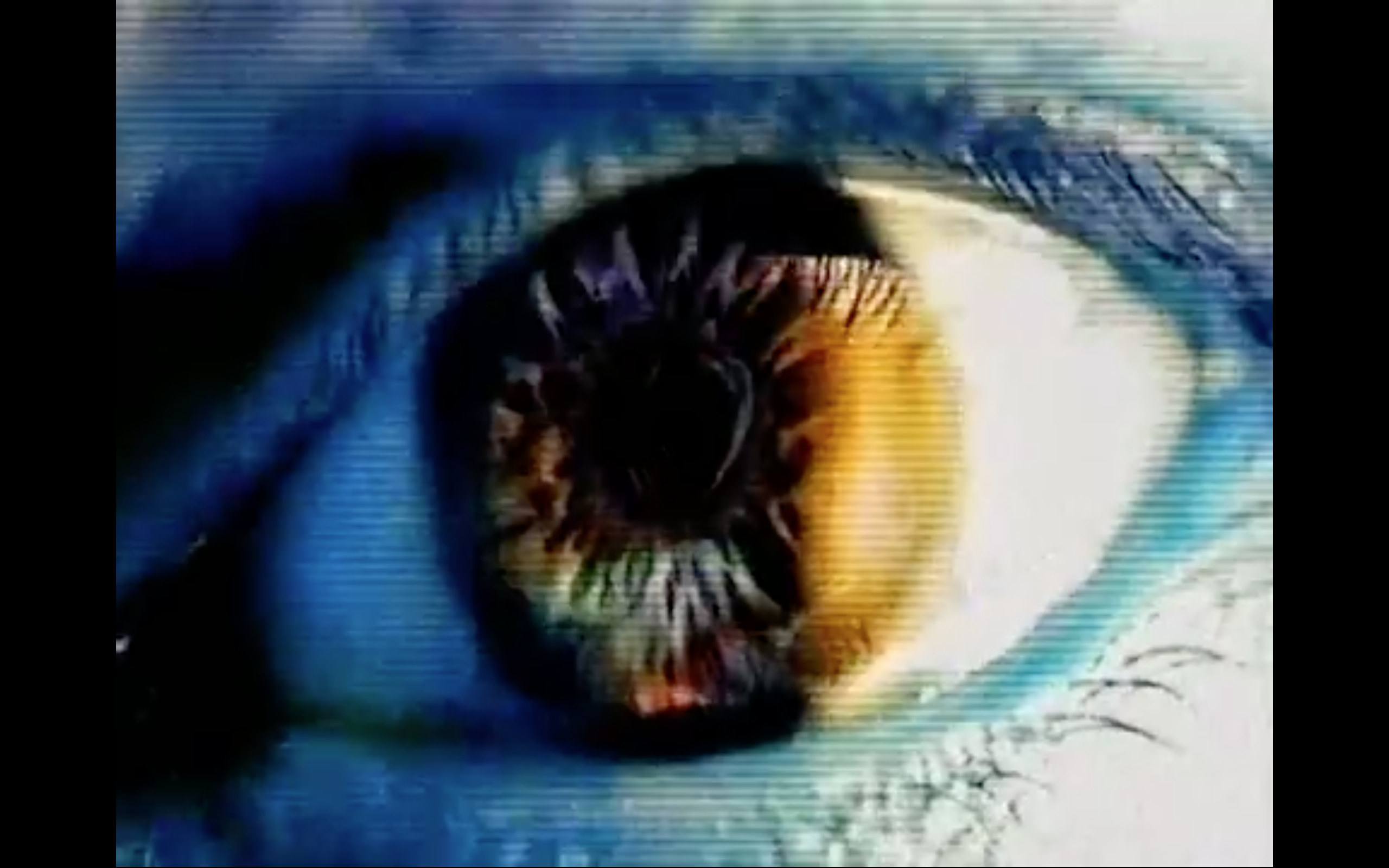Big Brother series 1 eye