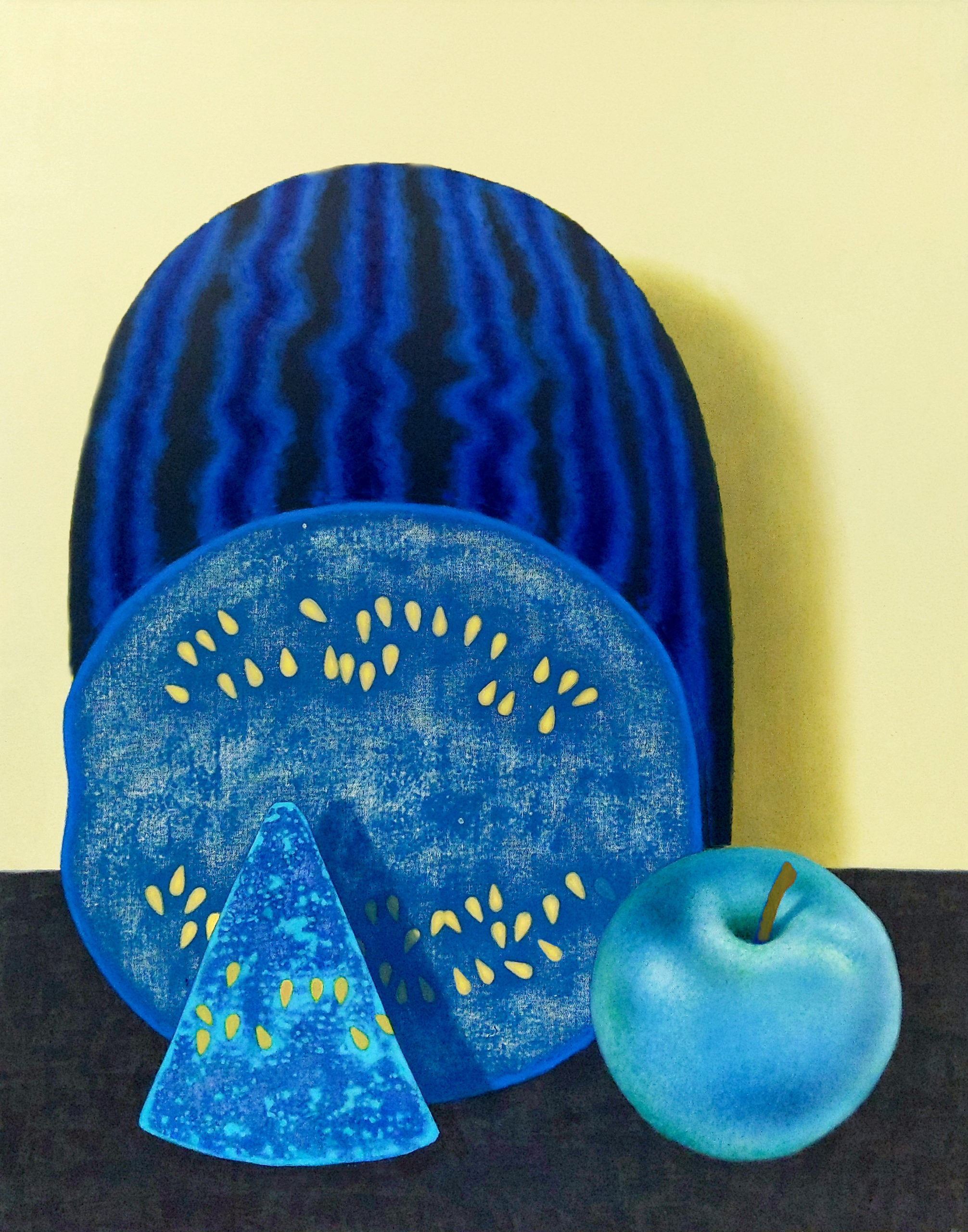 Amanda Baldwin, Blue Melon, 2020. Courtesy the artist