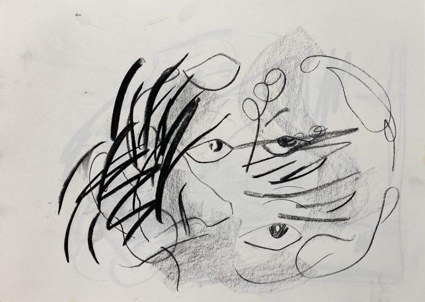 Trum Namii Boys Quick Dry Swim Trunks Gray Ornate Tribal Elephant Art Print Shorts