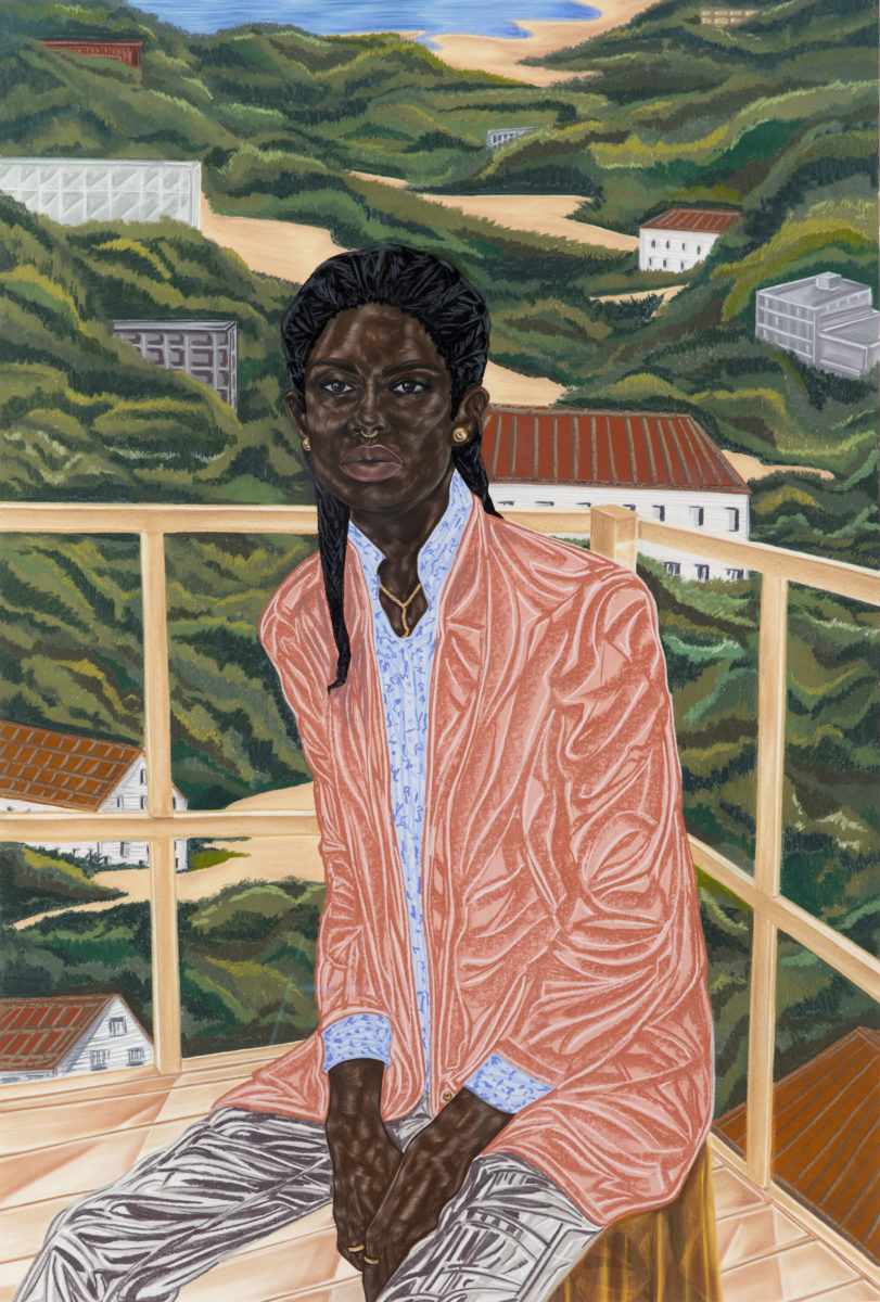 TheMissionary (2017) © Toyin Ojih Odutola. Courtesy of the artist and Jack Shainman Gallery, New York