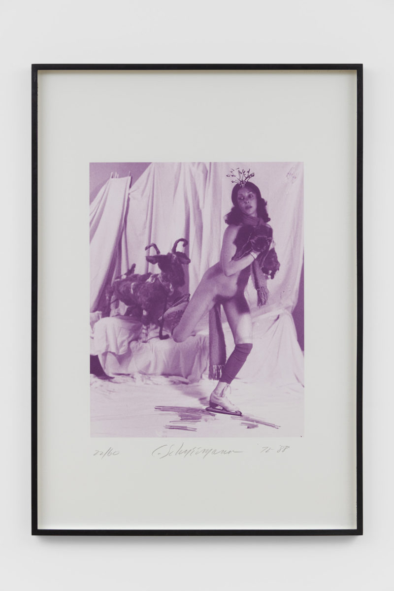 Carolee Schneemann, Ice Naked Skating, detail 2, 1972/1988. Copyright The Artist. Courtesy of Richard Saltoun Gallery.