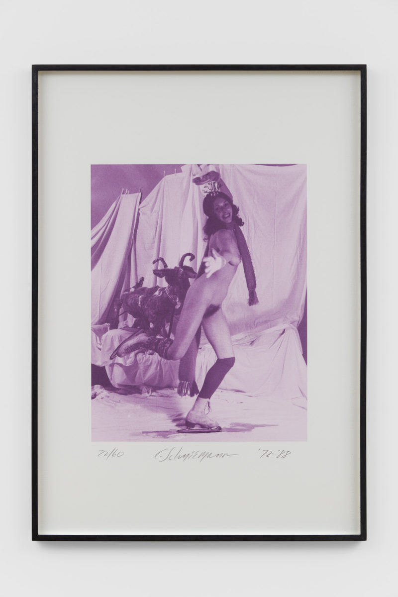 Carolee Schneemann, Ice Naked Skating, detail 3, 1972/1988. Copyright The Artist. Courtesy of Richard Saltoun Gallery.