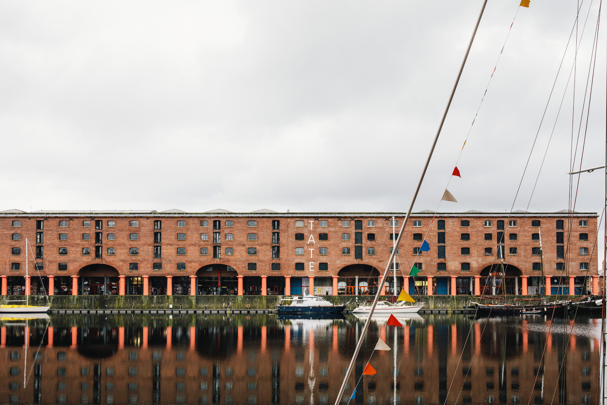 Tate Liverpool exterior © Rachel Ryan Photography