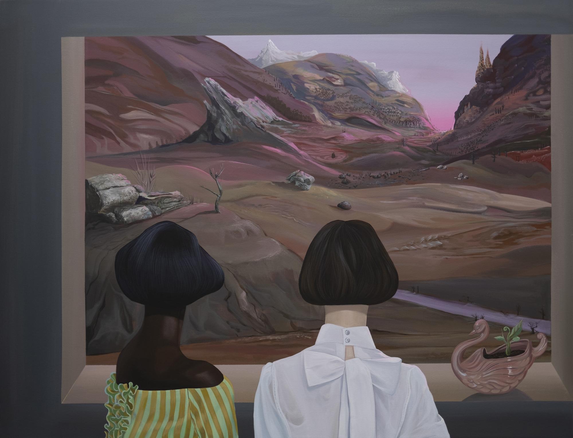 Dalton Gata, Vista Desde la Ventana (View From the Window), 2020