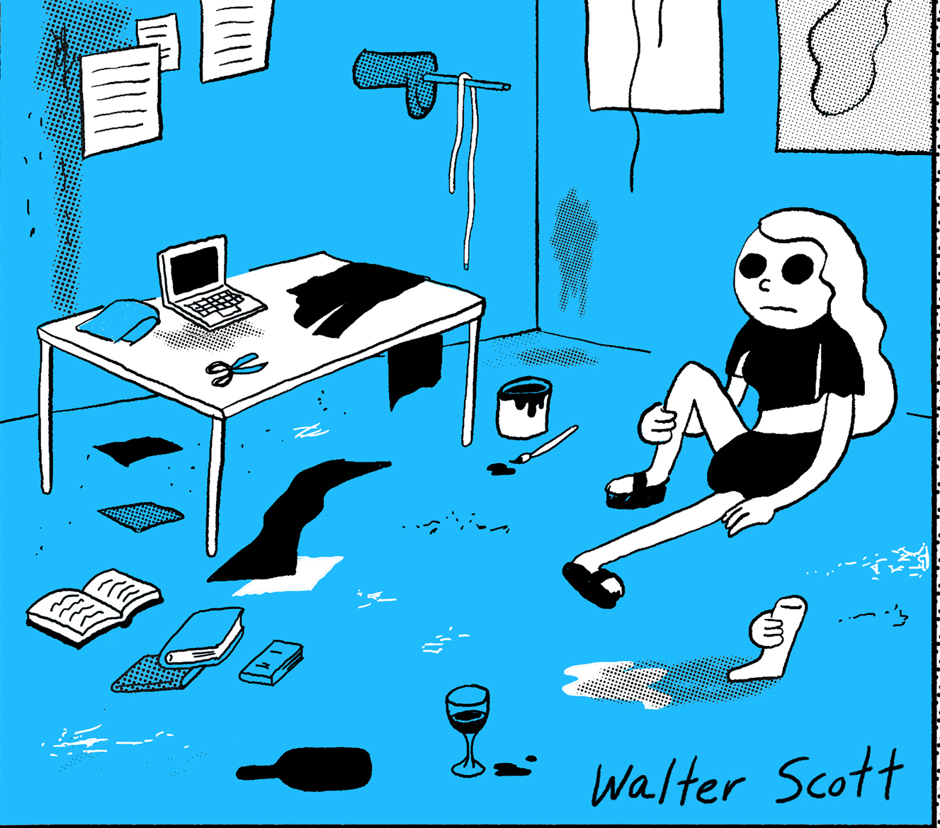 Wendy: Master of Art, by Walter Scott, cover crop