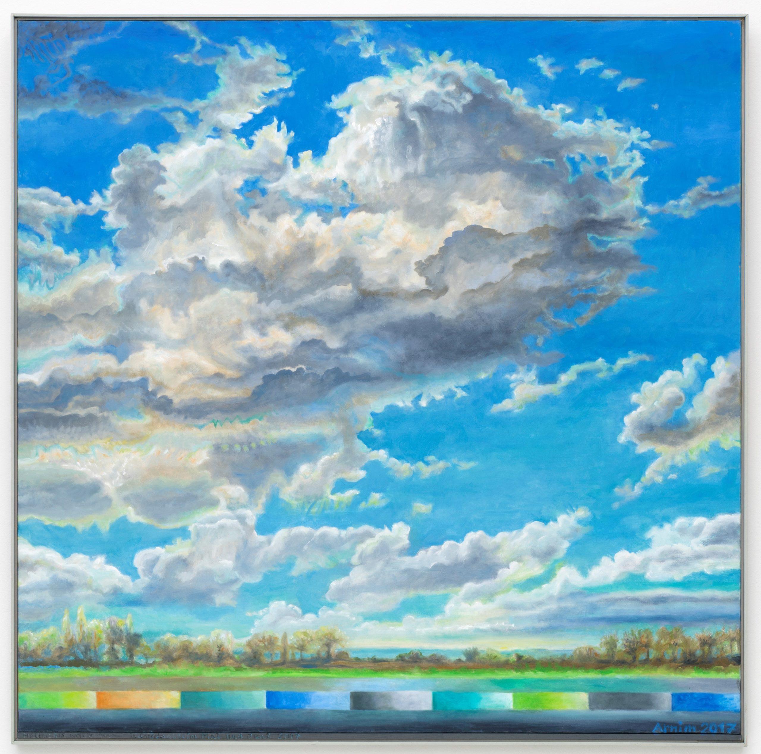 Bettina von Arnim, Sunny with Cloudy Intervals, 2017