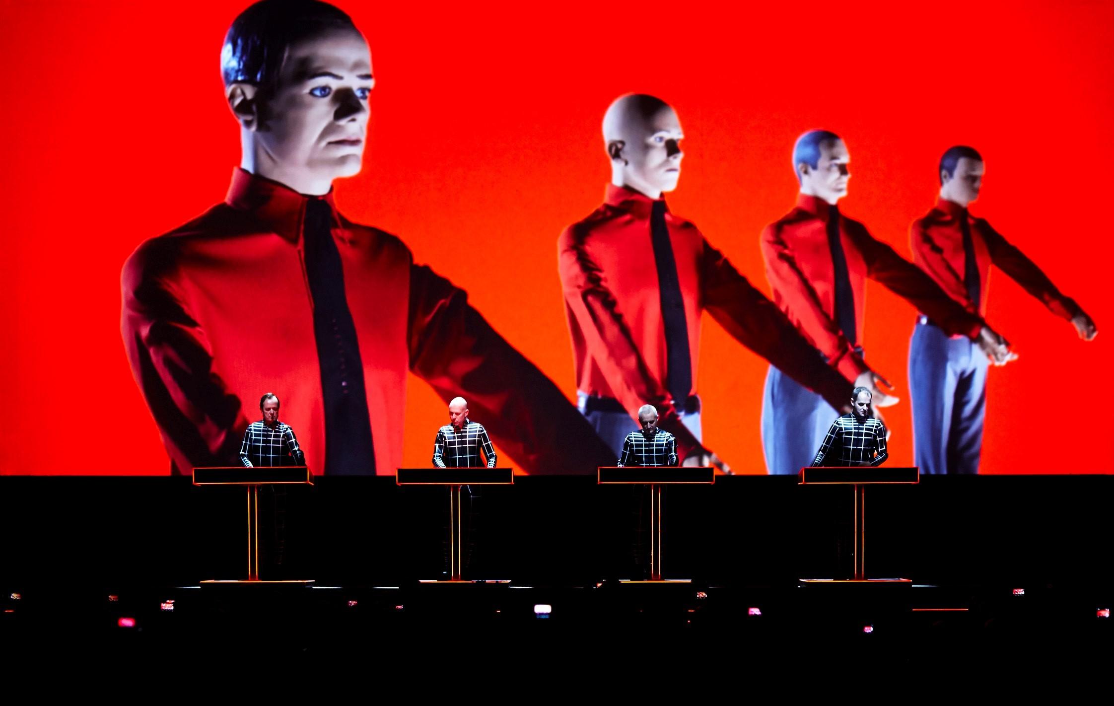 Kraftwerk. Photo by Peter Boettcher