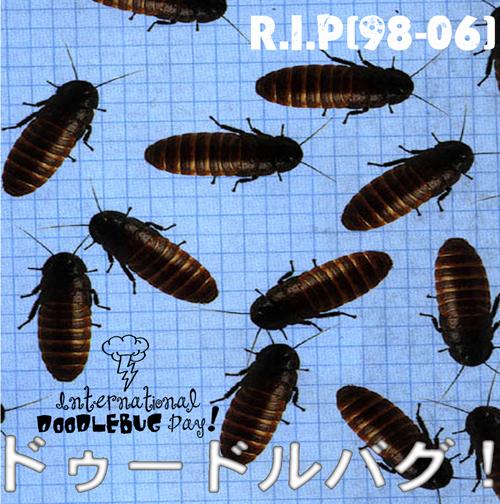 Michael Barnes-Wynters, RIP International Doodlebug Day