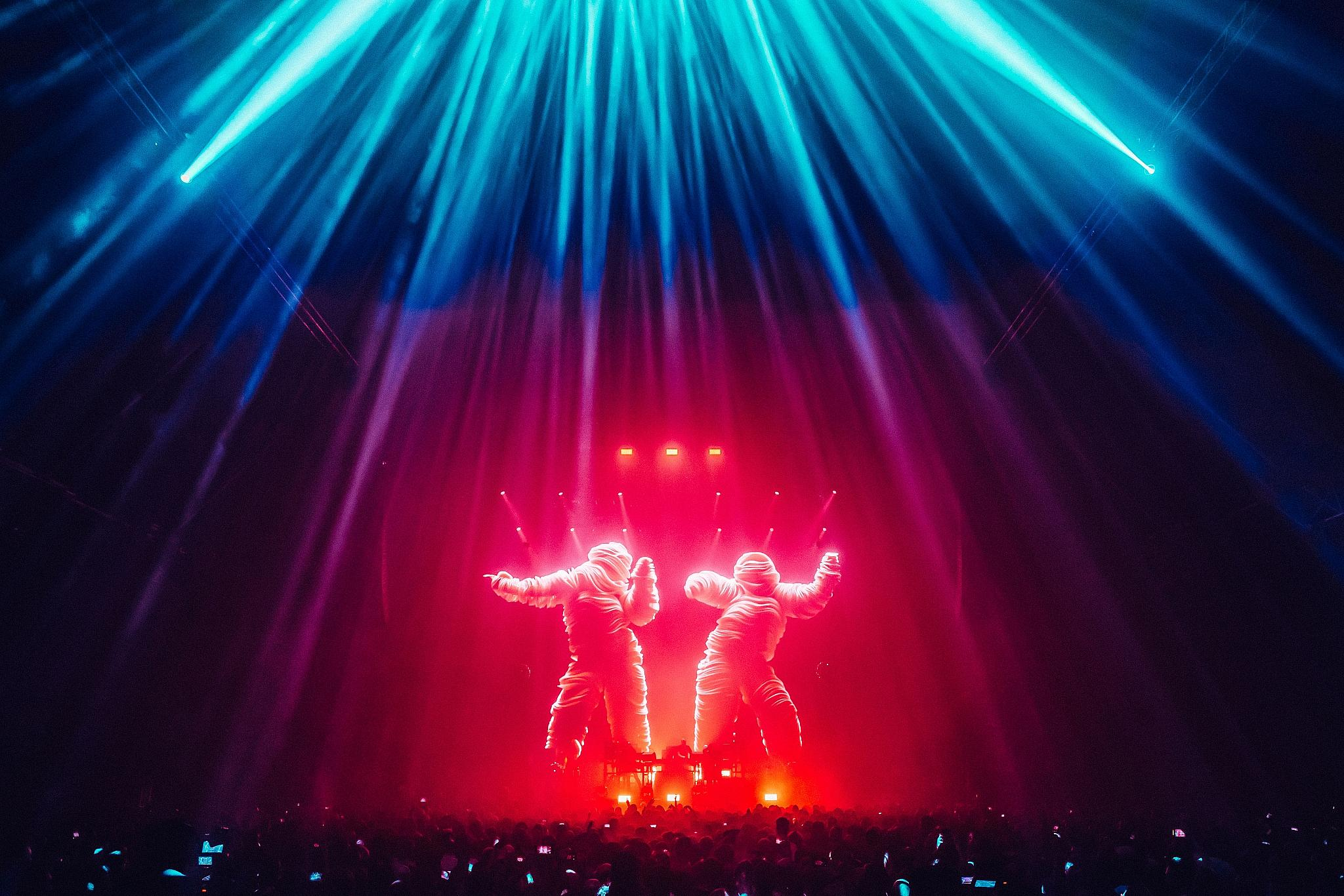 The Chemical Brothers. Photo by Luke Dyson