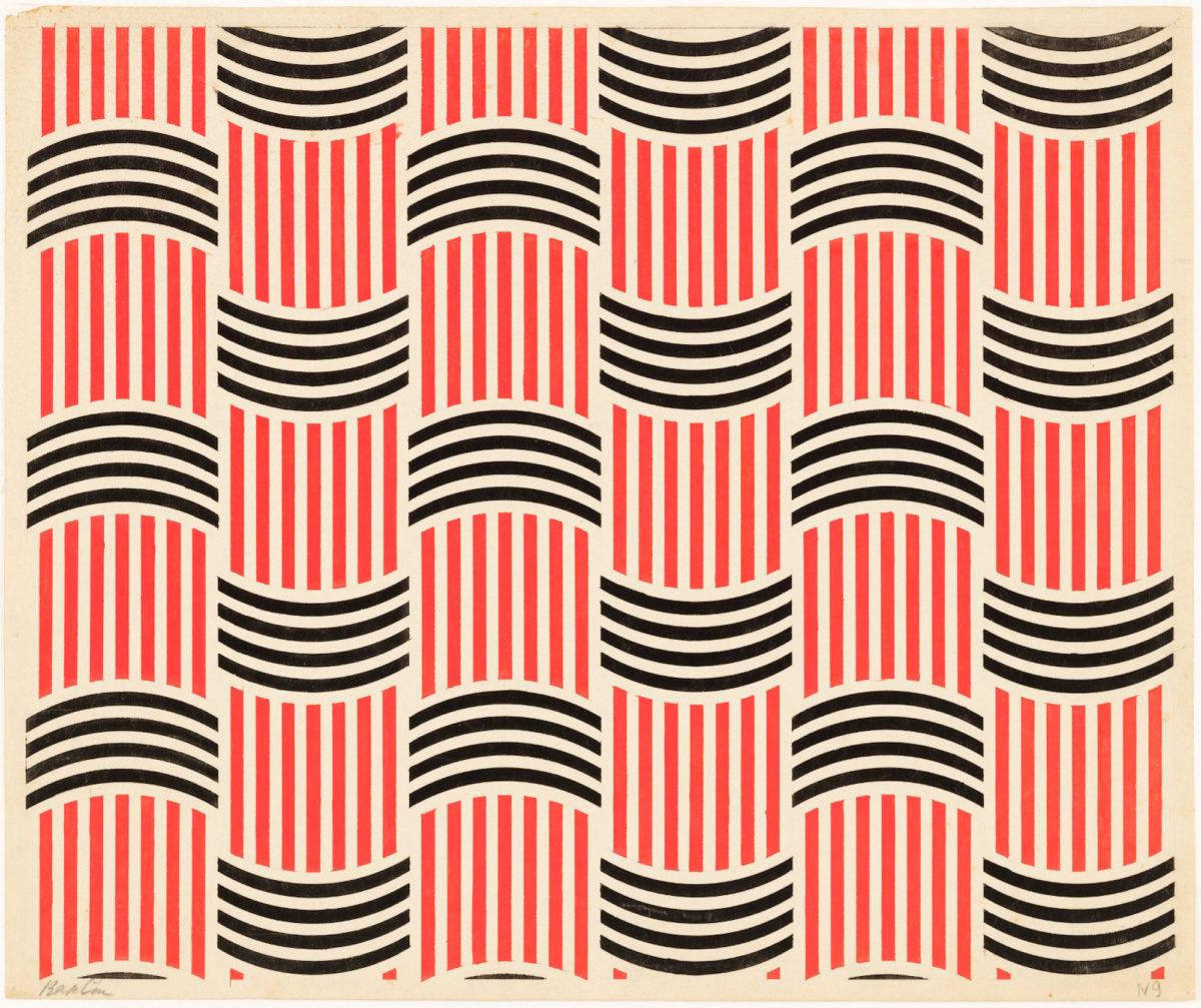Varvara Stepanova, Textile Design (1924) (2)
