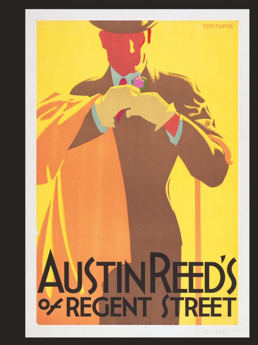 Tom Purvis, Austin Reed's of Regent Street,Great Britain, c. 1935 © 2020 Victoria and Albert Museum, London