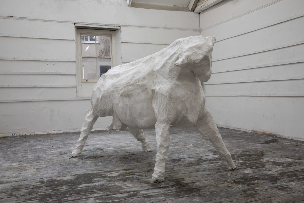 Calf Sculpture (2020)
