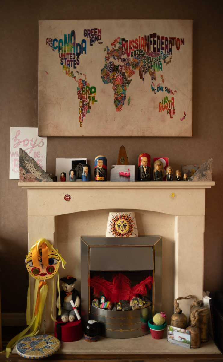 Madeline Waller, Mantelpieces and Treasured Objects. © the artist