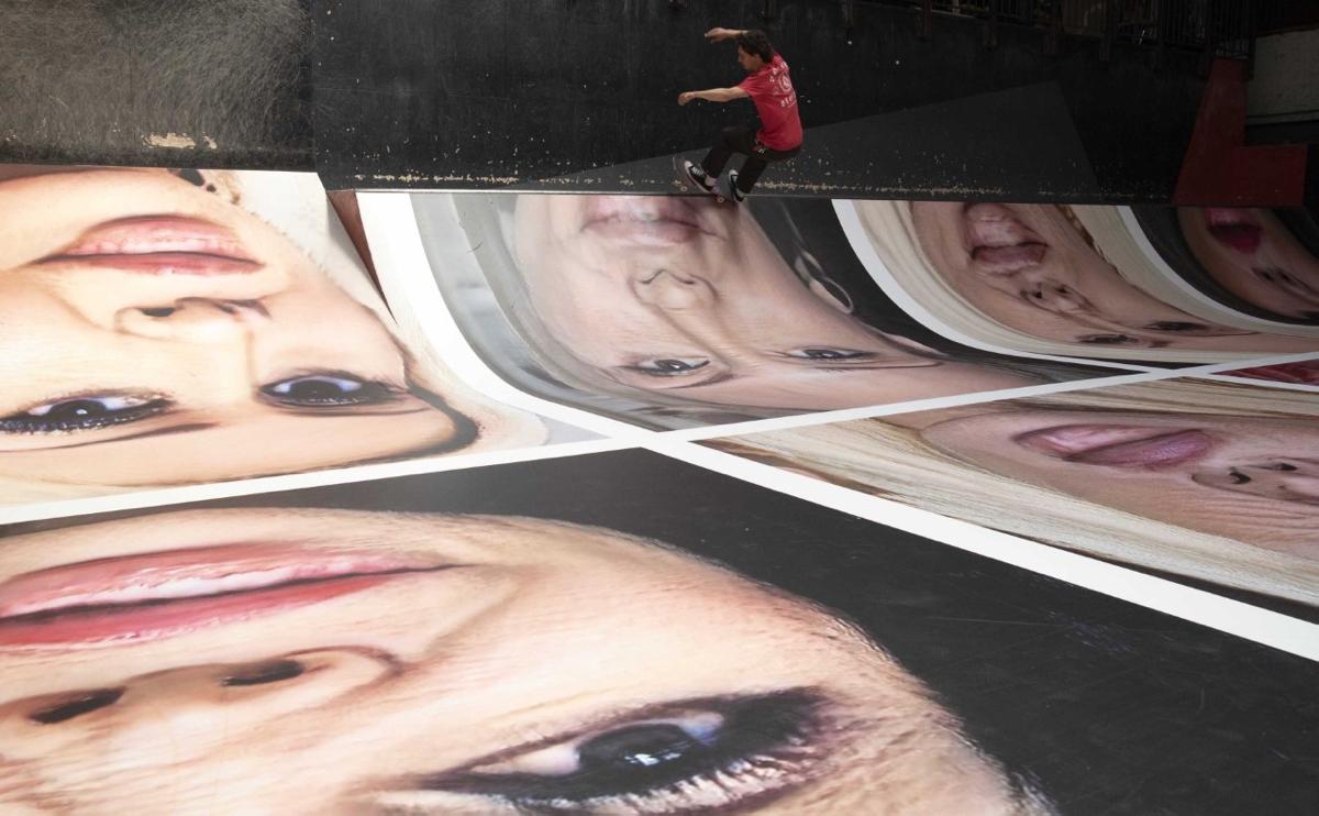 Erik Kessels, Destroy My Face at Pier15 Skatepark via BredaPhoto